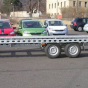 bérelhető BORO 8mx2m - 2 autós trailer