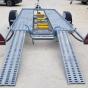 450 x 175cm 2T össztömegű autó és hajószállító