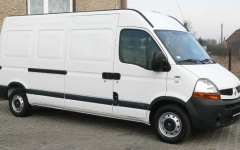 bérelhető furgon Renault Master L3H2
